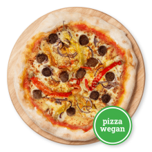 Pizza Meatballs vegetariani